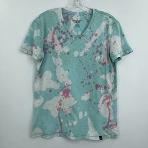 American Eagle Seriously Soft splatter tee